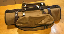 DTC One Night Stand (1.0)  Travel Roll Garment Bag. Cotton/Leather