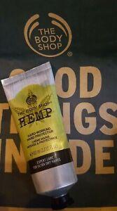 Hemp Hand Protector Cream The Body Shop Intense Moisturiser 100ml New Vegetarian