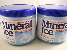 Mineral Ice  Pain Reliving Gel 16 oz each  (2pk bundle) fresh & new exp 2019
