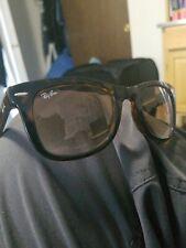 Ray Ban RB4105 Wayfarer Folding Sunglasses - Black/Green