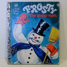 a Little Golden Book 'Frosty the Snow Man' Board Book 32nd printing, 1980 VG+