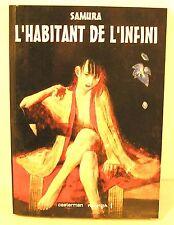 """manga """" l'habitant de l'infini T8 """" SAMURA ed casterman 2003"""