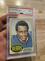 Walter Payton ROOKIE PSA 2 Topps 1976 Chicago Bears Antique Collector Card #148