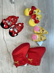 Disney Princess/Toy Story Baby Costume Shoes 0-6, 6-12 Months YOU PICK STYLE