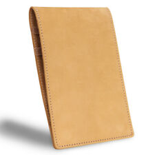 Magnetic Leather Golf Scorecard Holder & Yardage Book Cover with Free Scorecard