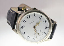 Vintage 1933 ETERNA GRAND PRIX Men's Wrist/Pocket Watch Genuine Leather Band