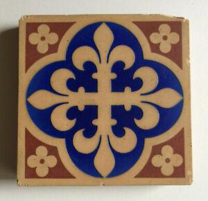 Victorian Pugin Minton & Co. Encaustic Floor Tile