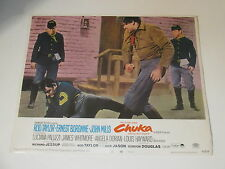 Chuka, 1967, Original film poster staring Rod Taylor, John Mills, Paramount