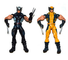Marvel Legends X Force Wolverine Black Gray & Yellow Suit Action Figure Loose