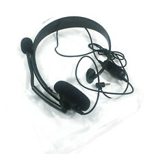 OFFICIAL Microsoft Xbox Live Black Chat Headset for XBOX 360 NEW