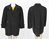 Womens MAY Toscana Loden Coat Jacket Trachten Grey Wool Size D42 / UK16