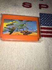 Vintage NTDEC orange Video Game Cartridge Cassette Contra Style Artwork Only