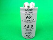 ABS Series 250VAC 150MFD Motor Start Run Capacitor 2 Terminal (G150) - Brand New