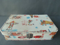 Old small suitcase vintage case the magic roundabout french antique