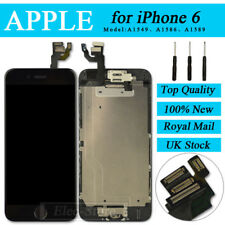 "Black Screen For iPhone 6 4.7"" Replacement Digitizer LCD Touch With Home Button"