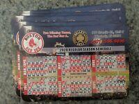 Boston Red Sox 2020 Magnet Schedule Rare Westerly, RI Kelley's Deli