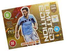 PANINI FIFA 365 2021 LIMITED LUIS ALBERTO - LAZIO