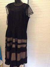 Jasper Conran Black Dress RRP£95 / Debenhams ...Brand New with Tags