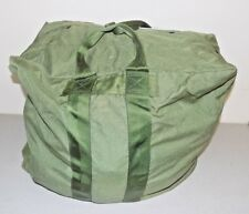 USAF Military A-3 Aircraft Pilot Flyers Kit Bag , Nylon, Olive Green