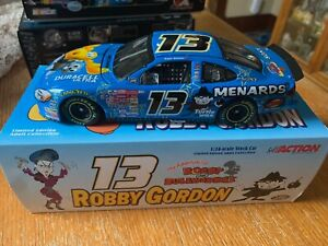 Action Collectibles Robby Gordon #13 Menards/Rocky & Bullwinkle 2000 Taurus