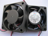 1 pcs Brushless DC Cooling 7Blade Fan 6020S 12V 60x60x20mm 2 Wire Sleeve Bearing