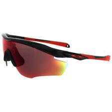 Lunettes de soleil sport rouge Oakley pour homme