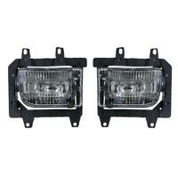 #QZO 1Pair Front Bumper Driving Fog Lights for BMW E30 318i 318is 325i 1985-1993