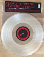 "QUEENS OF THE STONE AGE - Go With The Flow 12"" LIMITED CLEAR VINYL Kyuss"