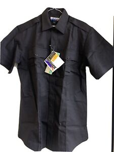 Blauer StreetGear 8713X BLACK Short Sleeve Shirt NEW WITH TAGS-CLOSE OUTS 2 PACK