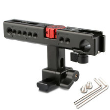 US Nato Top Handle Gripwith 15mm Rod Clamp Shoe Mount for Camera Stabilizer