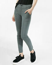 New Express High Waisted Lace-up Front Pant Retail $69.90 Sz 6 Short