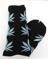 Huf Marijuana Cannabis Leaf Crew Socks Unisex 420