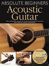 Absolute Beginners Acoustic Guitar A Complete Guide To Playing Tab Book NEW!