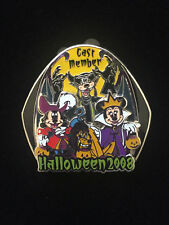 WDW Cast Member Exclusive Halloween 2008 Fab 4 Mickey Minnie Pluto Goofy Pin