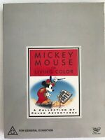 MICKEY MOUSE IN LIVING COLOUR WALT DISNEY TREASURES COLLECTION NEW 2 DVD *NO TIN