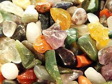 Tumbled Gemstones Crystals Mix  2 Lb Rocks Small Stones Chips Lot