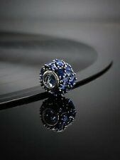 Genuine Pandora S925 ALE Chiselled Elegance Blue Charm-797746NSBL