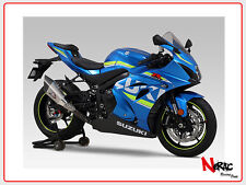 YOSHIMURA EXHAUST SCARICO INOX SLIP-ON R-11 SINGLE EX SUZUKI GSX-R 1000 2017