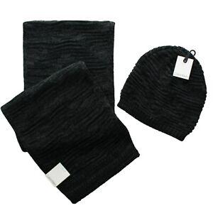 Calvin Klein Men's Scarf Hat Beanie Cap Winter Knit 2 Piece Gift Set, $97