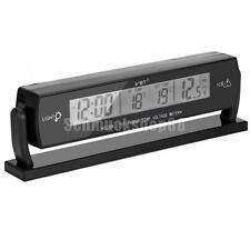 LCD Digital Auto KFZ Uhr Thermometer Temperatur Spannung Datum Anzeige 03