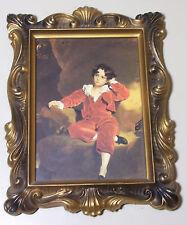 "Vintage Thomas Lawrence - Master Lambton Framed Print 9.5"" x 7.5"""