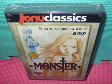 MONSTER - CAPIT. 16 AL 30 - 4 DVDS  - PRECINTADA