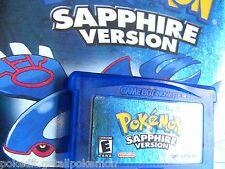 PokEdit Pokemon Sapphire Used Nintendo DS GBA All 386 Shiny Edit