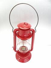 Antique Old Used Metal Red CT Ham MFG Co No 2 Oil Kerosene Barn Lantern Lamp