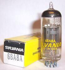 NEW IN BOX SYLVANIA 6BA8A TRIODE-PENTODE RADIO TUBE / VALVE - 6BA8