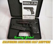 METAL BLACK EKOL P29 MOVIE PROP PISTOL REPLICA SIG SAUER 229 HAND GUN TRAINING