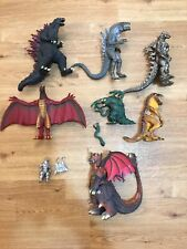 Godzilla Action Figure Lot RARE Mecha Godzilla 3 Drill Arm Variant