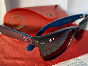 RAY BAN Sonnenbrille RB2132 NEW WAYFARER 6182 55[]18 3N Sehr schöne matte Farbe
