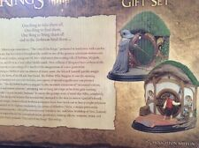 SALE Lord Of The Rings Lotr Hobbit Tolkien Book Bookends Rare Gift Weta