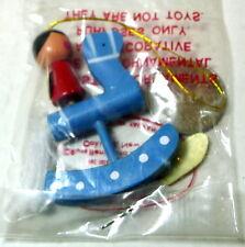 Rocking Horse Blue Ornament Russ Miniature Vintage
